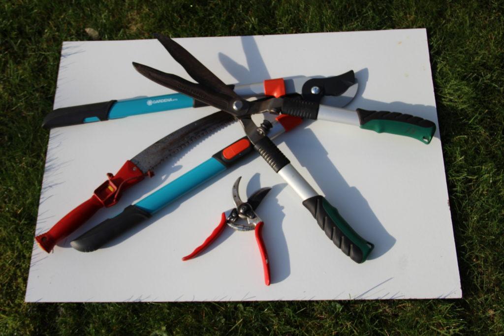 Figure 3 – Les « armes » du jardinier