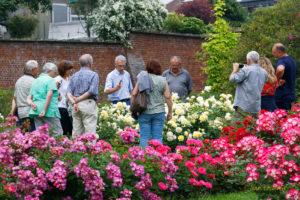 """Photos de la visite guidée """"Les secrets de beauté de la Roseraie de Saint-Jacques"""""""
