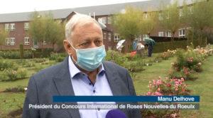 """Reportage ACTV """" Le Roeulx : concours international de roses nouvelles """""""